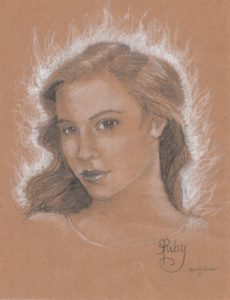Ruby by Rosalyn Eves